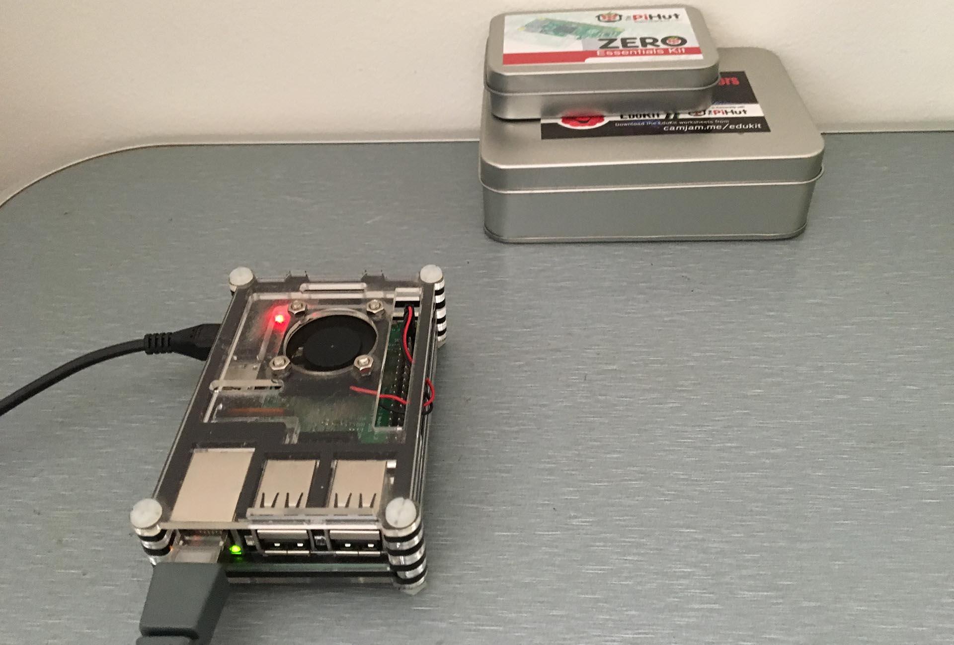 Serveur d'applications sur Raspberry pi 3